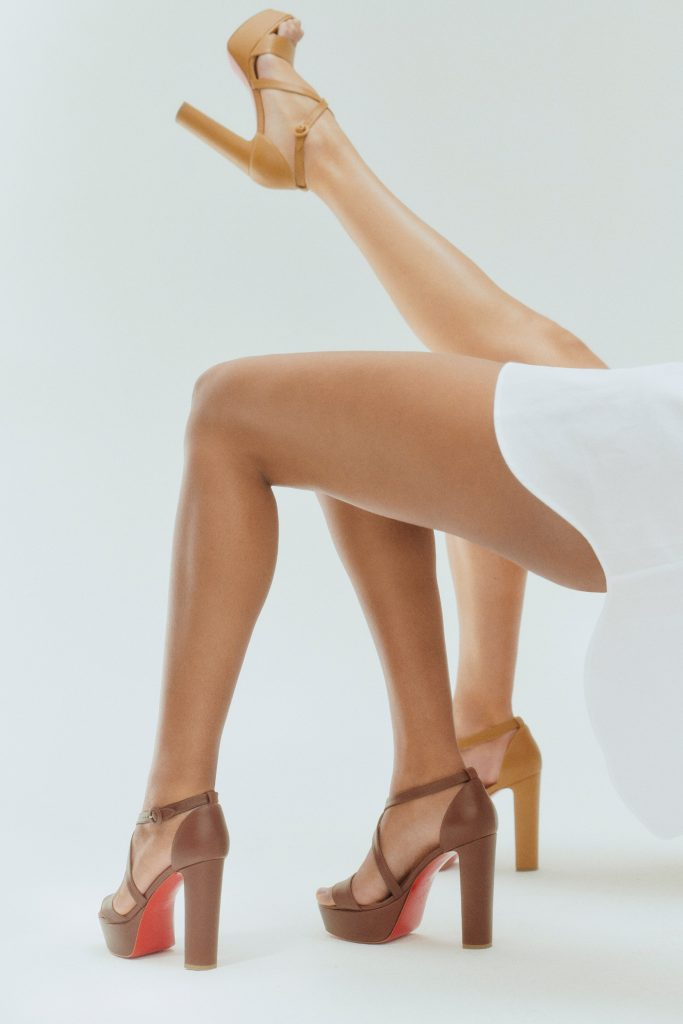 Christian Louboutin mytheresa nude sandals