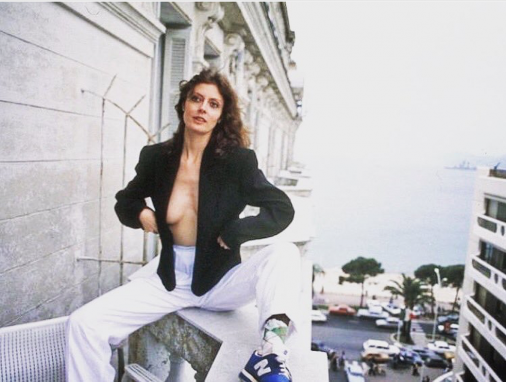 susan Sarandon cannes new balance