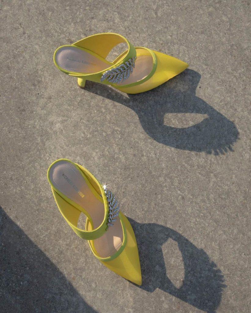 Nicholas kirkwood-yellow-shoes