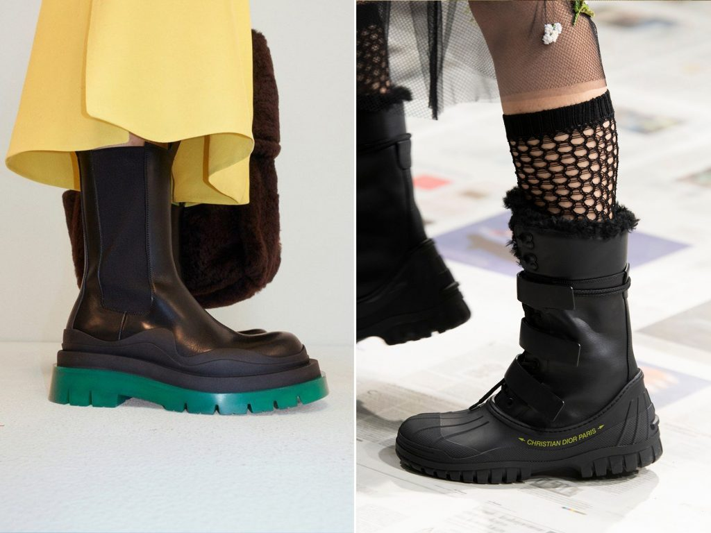 FW20 SHOE TRENDS CHUNKY BOOTS