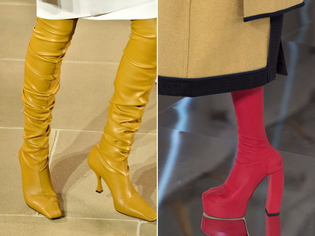 SHOE TRENDS 2020 COLOURFUL BOOTS