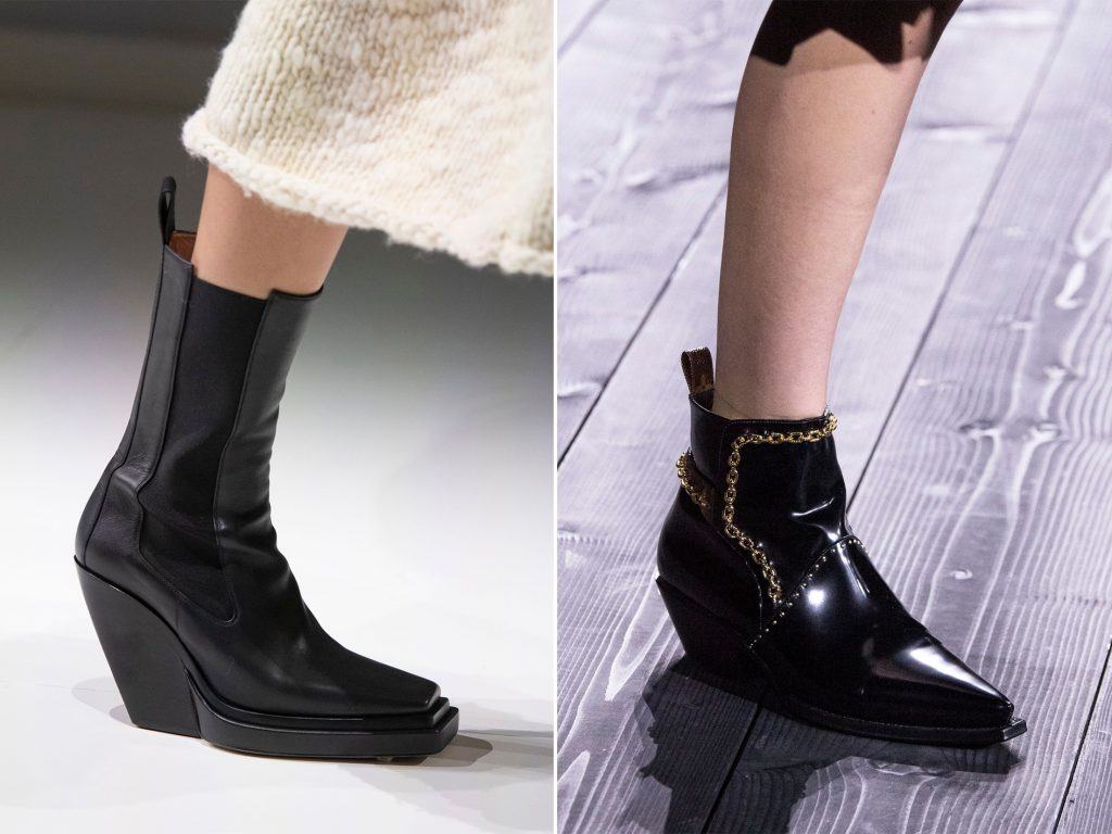 bottega veneta LV cowboy boots