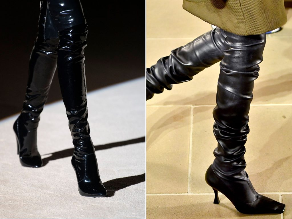 FW20 SHOE TRENDS TIGH HIGH BOOTS