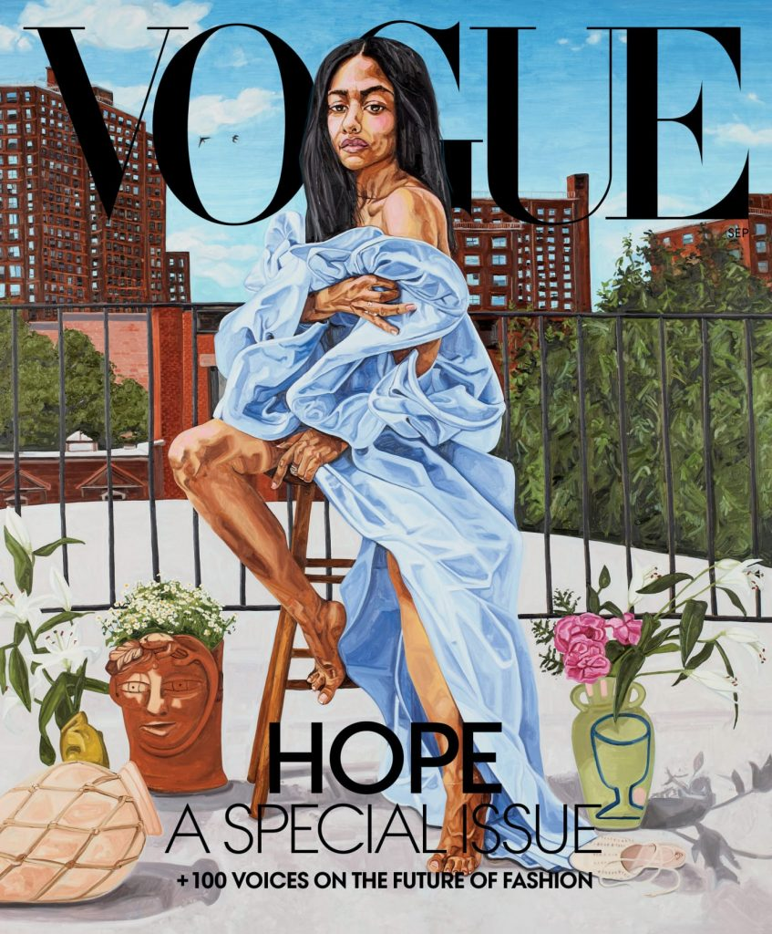aurora james September vogue cover