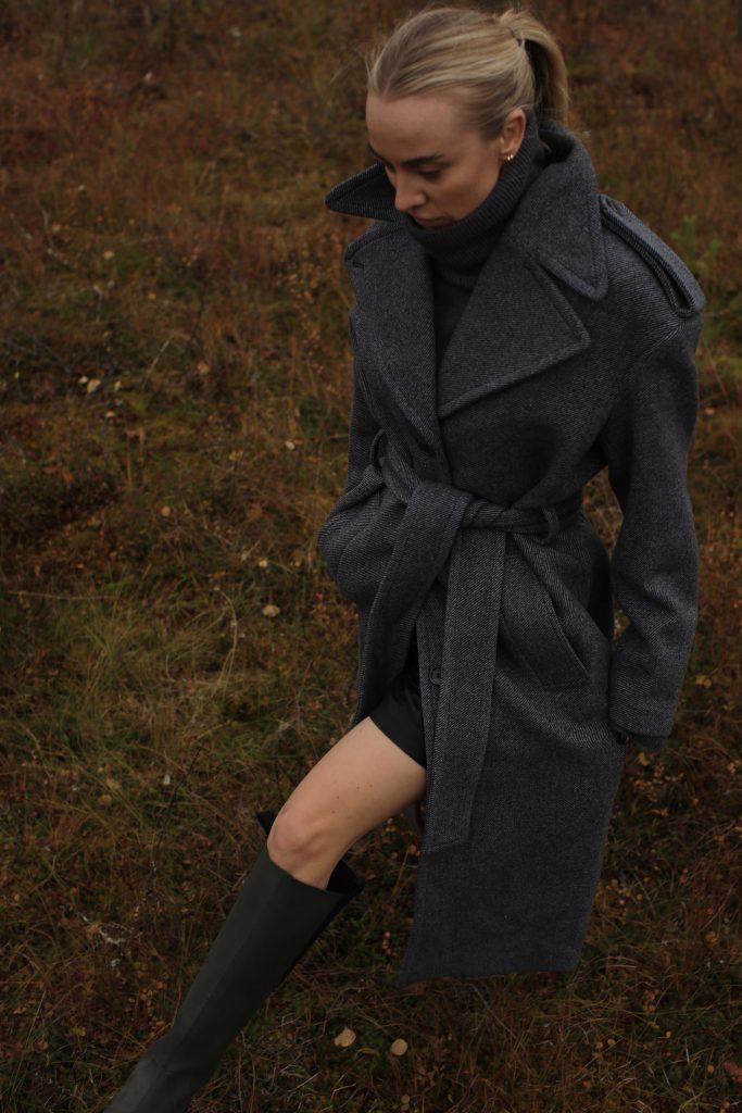 h&m studio coat