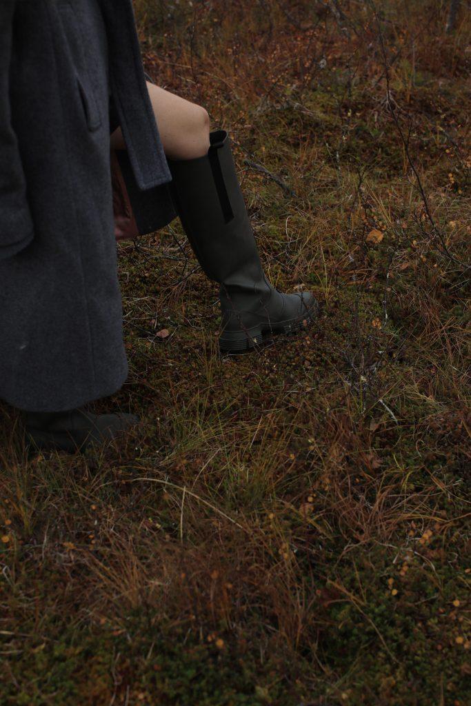 Ganni wellies boots