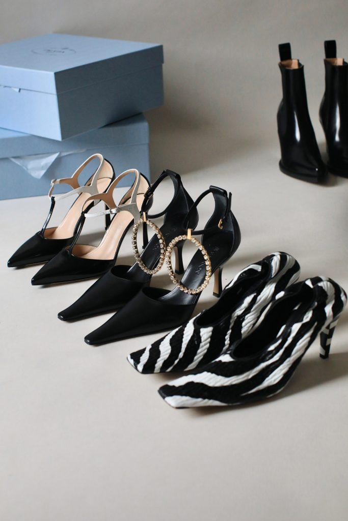 capsule shoe heels
