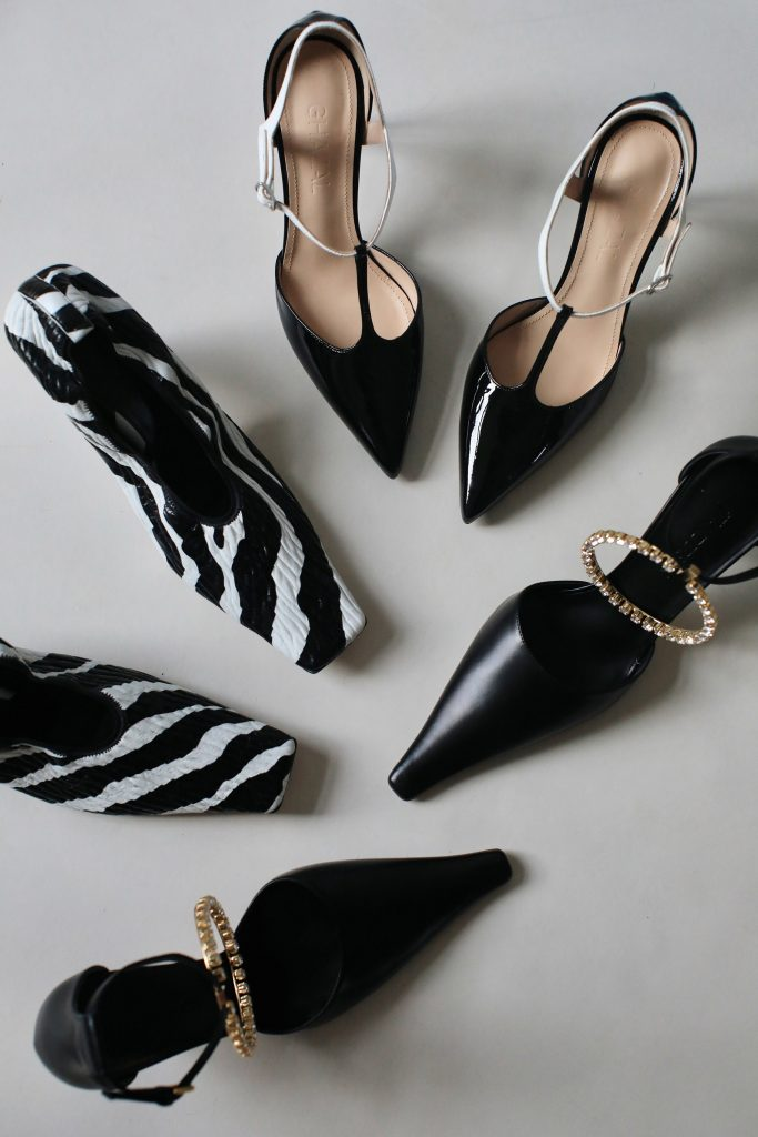 party pumps Bottega