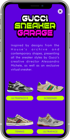 GUCCI SNEAKERS GARAGE
