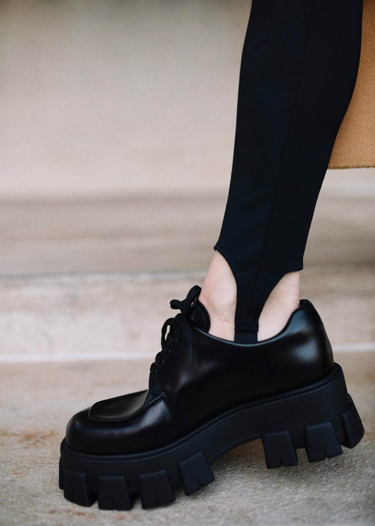 Prada chunky shoes
