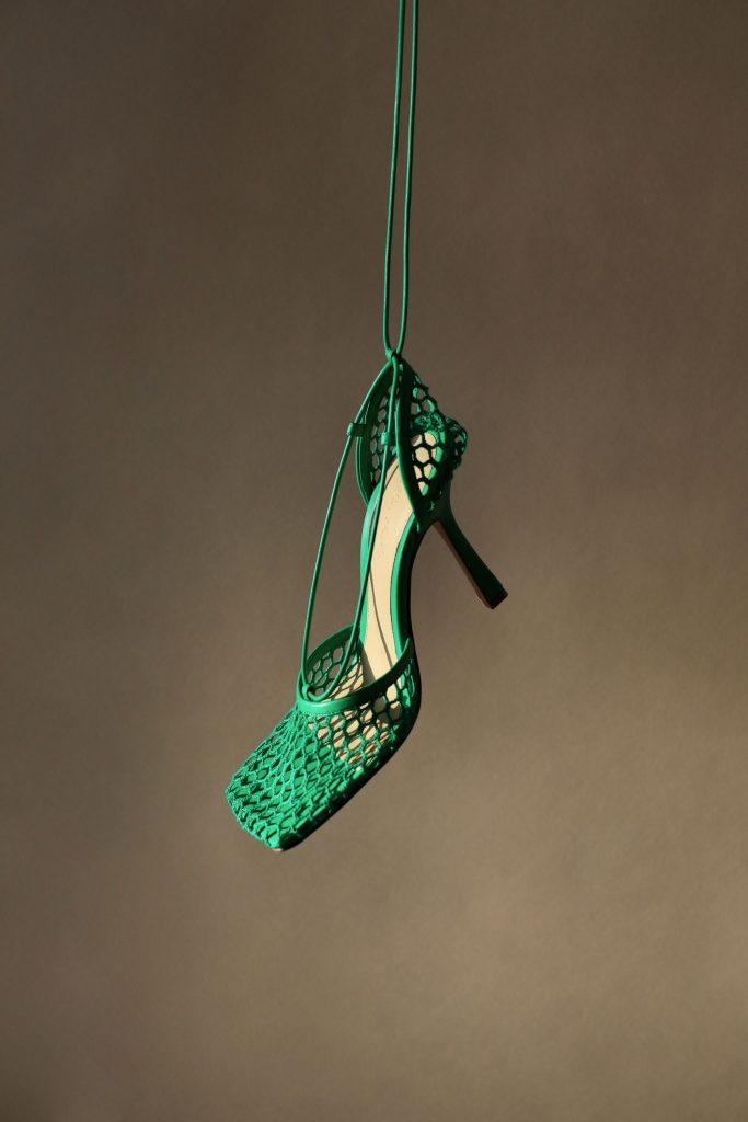 bottega-veneta-green-mesh-sandals