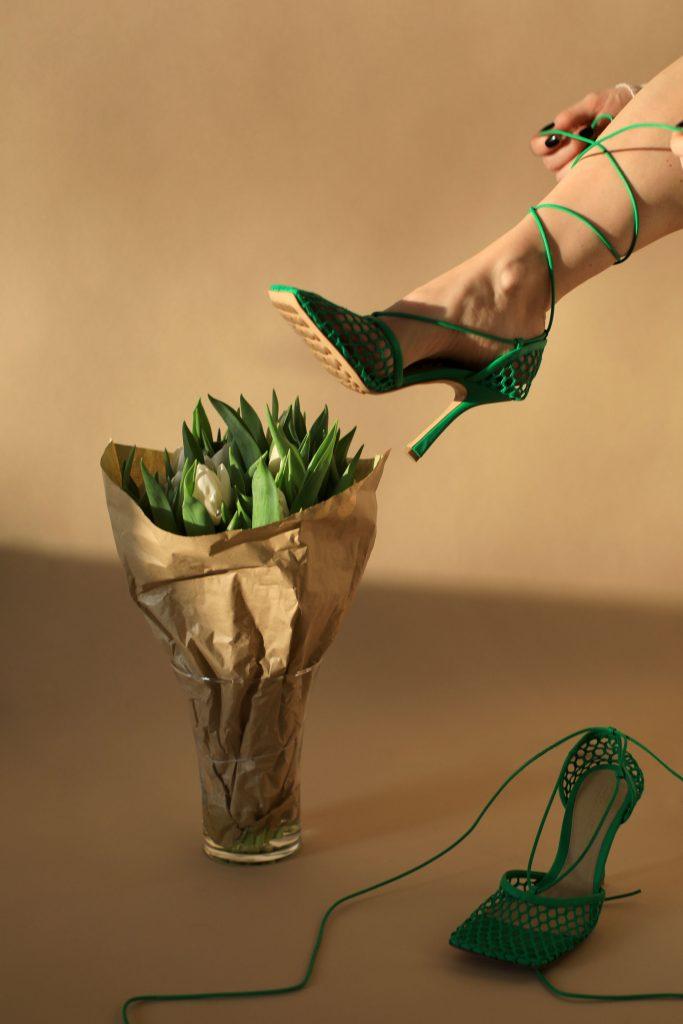 bottega veneta mesh shoes