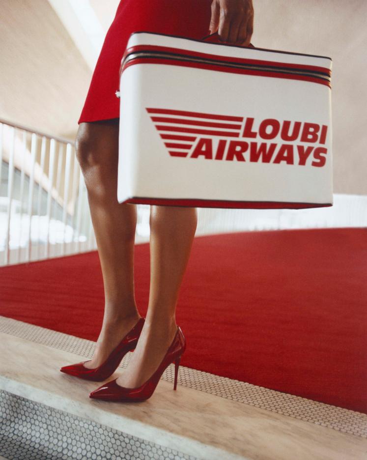 Louboutin loubi airways