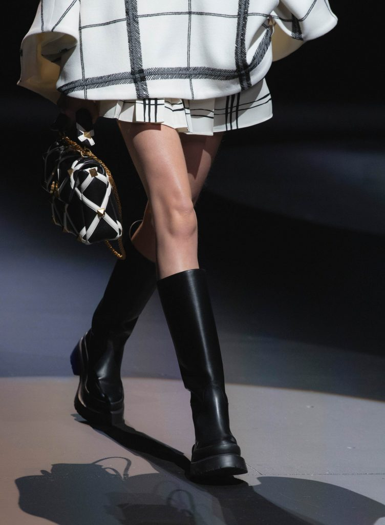 Valentino AW21 runway boots