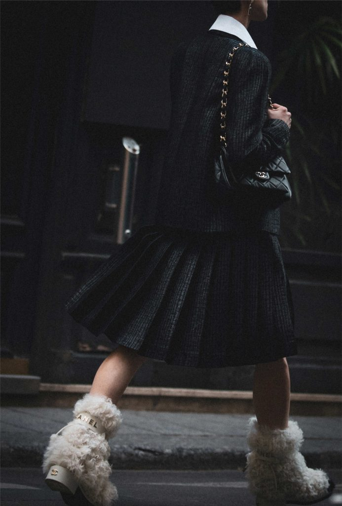 Chanel fall winter boots