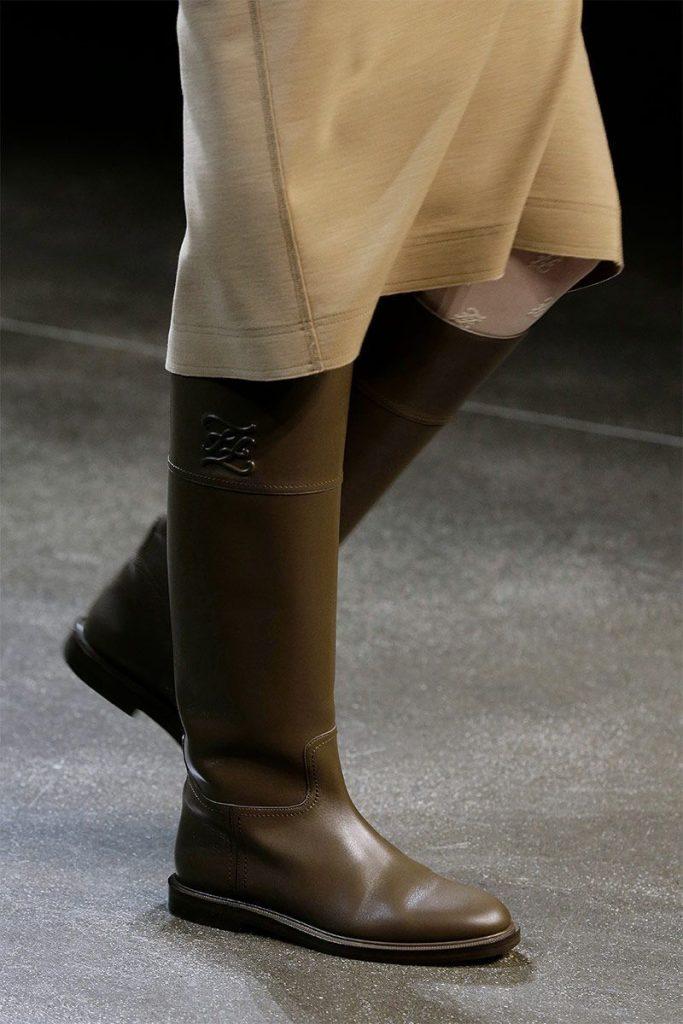 fendi flat boots