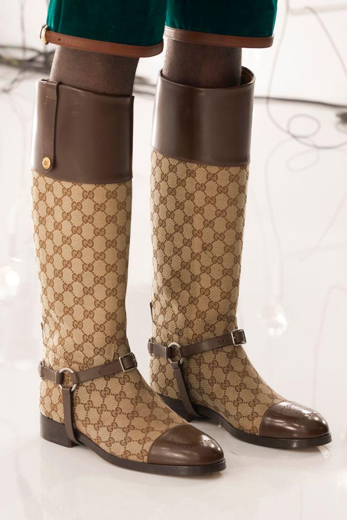 Gucci Aria Balenciaga boots