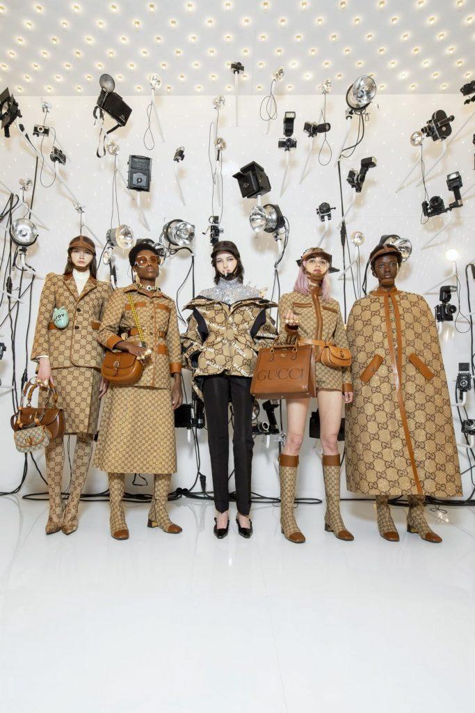 Gucci Aria Balenciaga collection