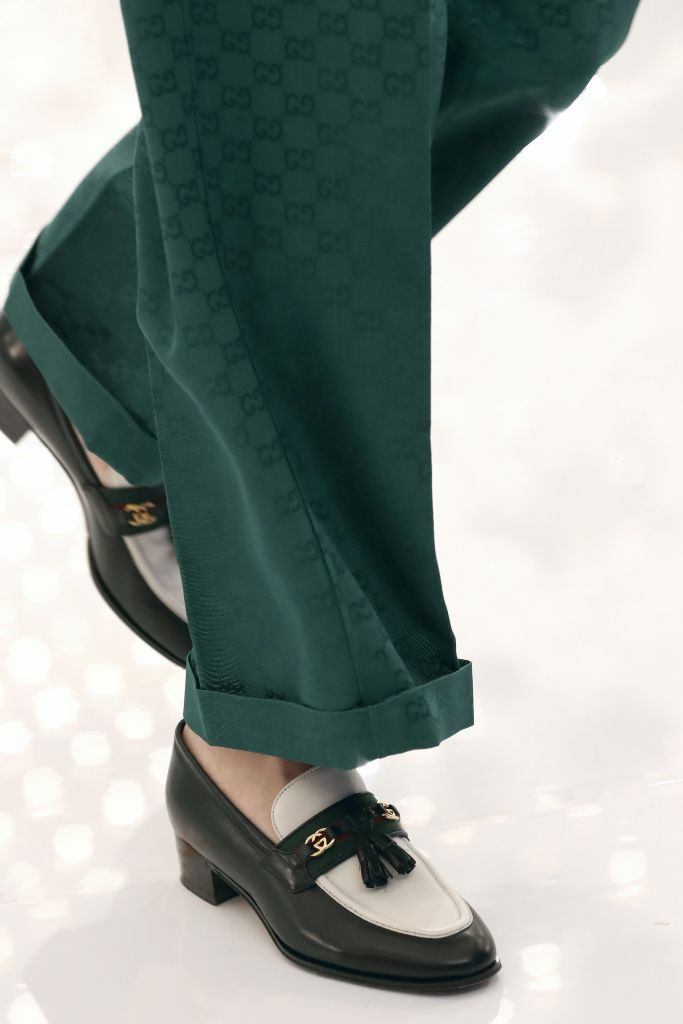 Gucci Aria Balenciaga loafers