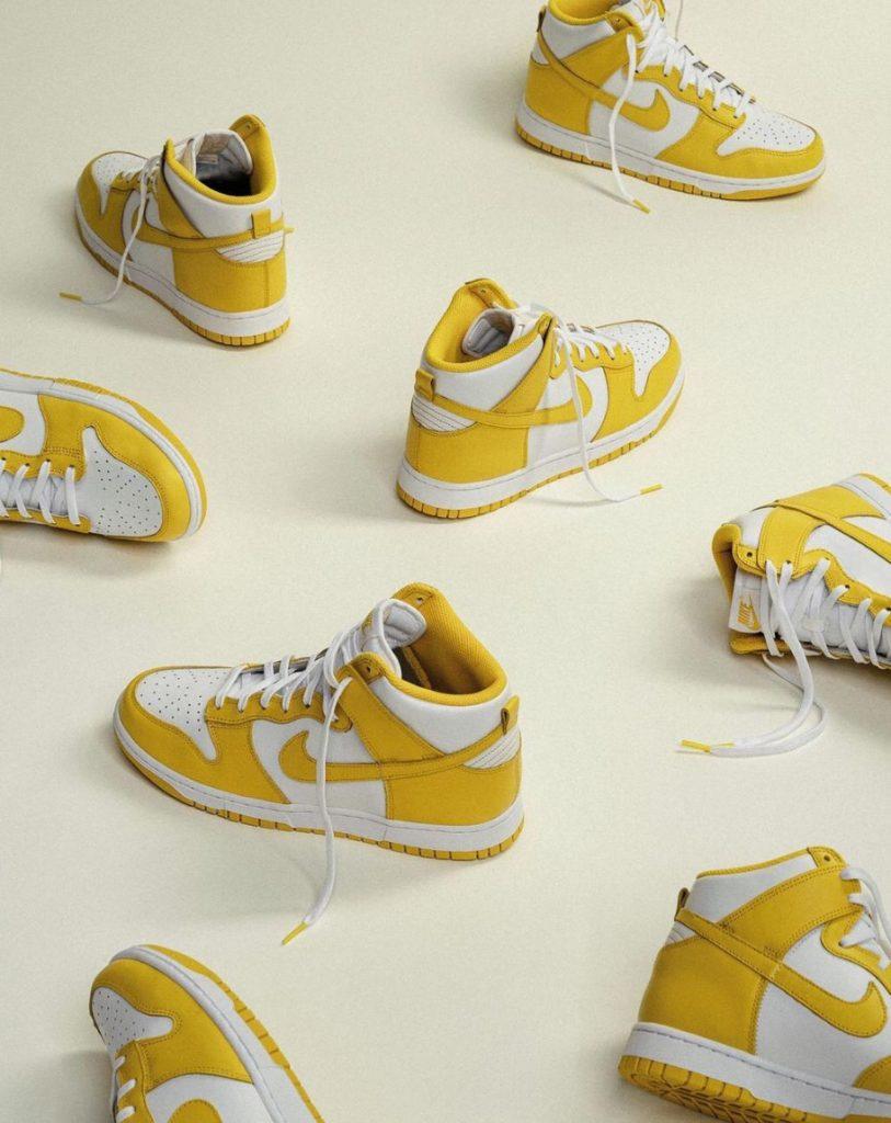 nike yellow Jordan