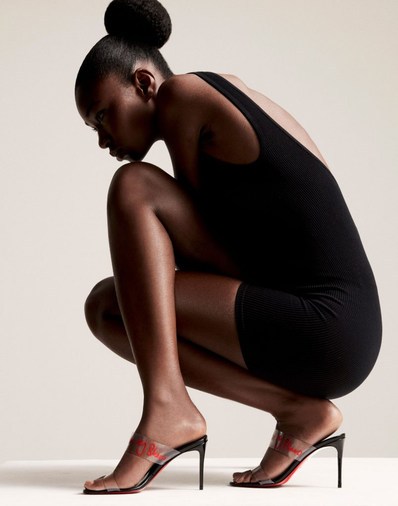louboutin walk a mile in my shoes