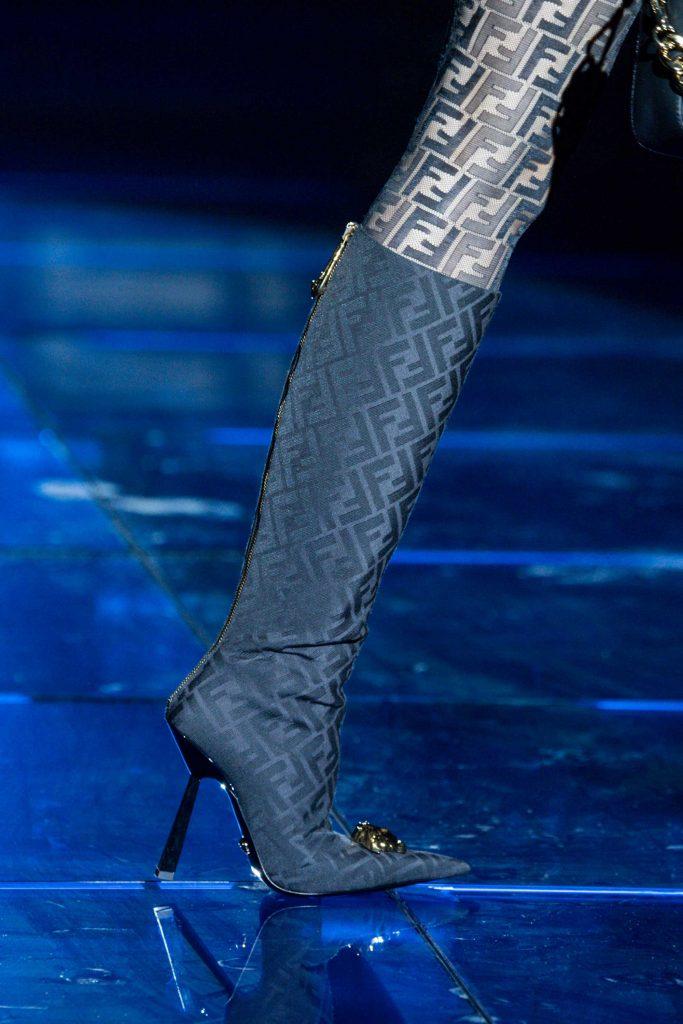 Fendi Versace boots