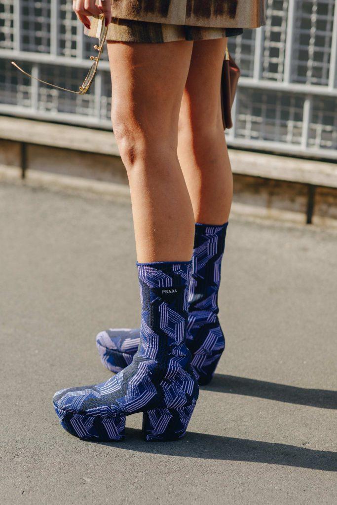 Platform Street style boots