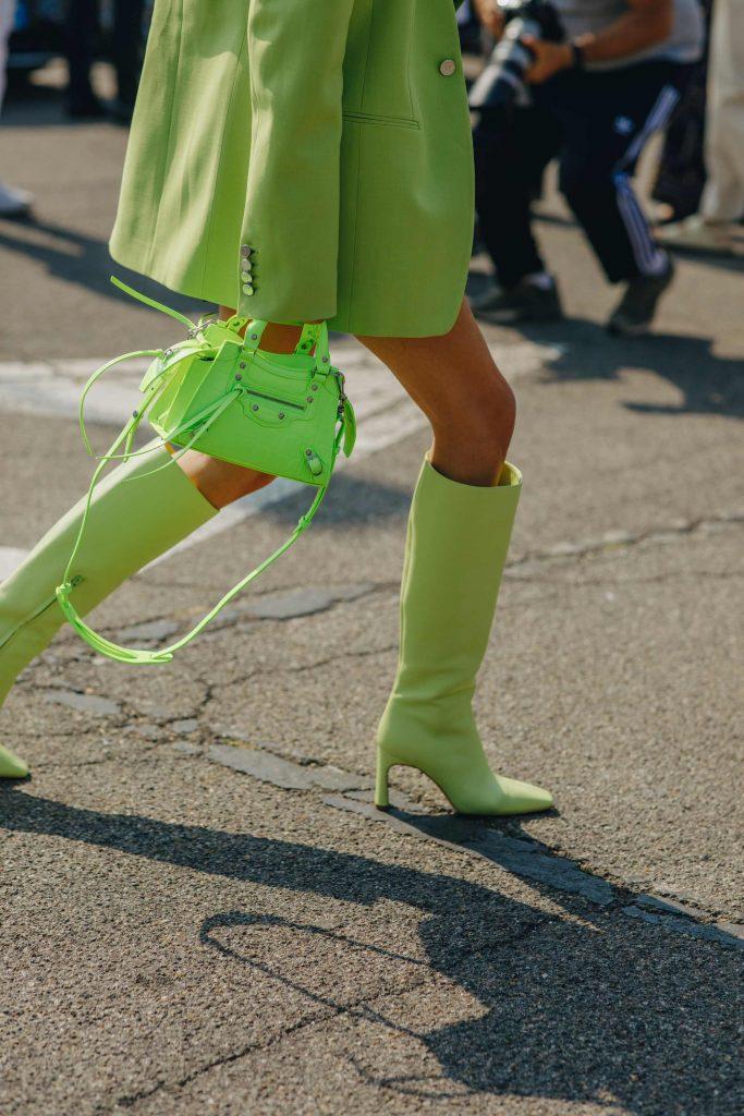 neon Street style boots