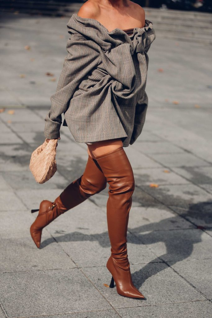 PFW street style boots