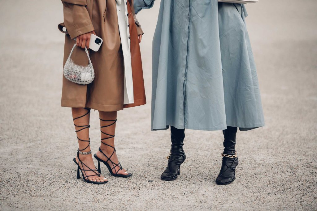 PFW street style shoes