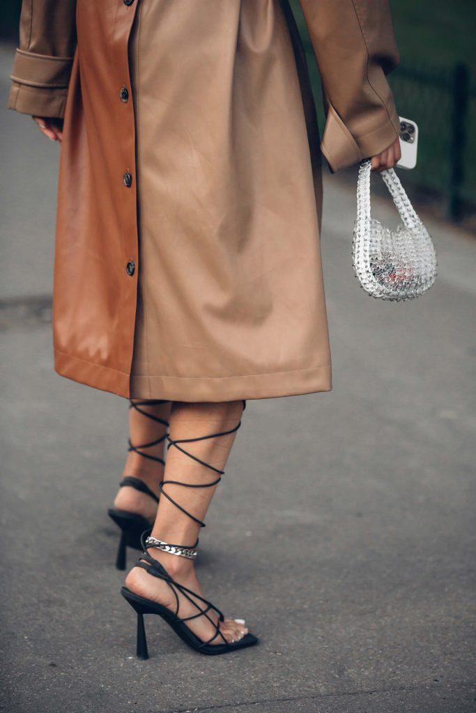 PFW street style sandals